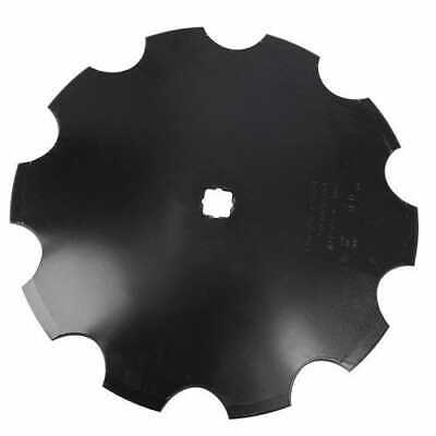 Disc Blade 20 Notched Edge 316 Thickness 1-18 Square X 1-14 Square Axle