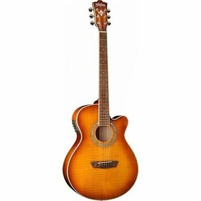 Washburn Festival Series EA15 Acoustic Electric Guitar *Ice Tea Sunburst*