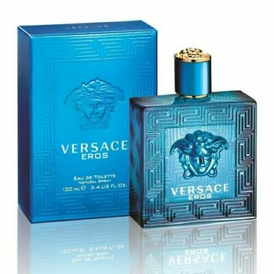 VERSACE Eros 100ml EDT for Men BRAND NEW SEALED Authentic Free Delivery
