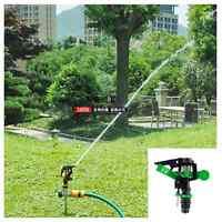 360° Auto Rotating Plastic Sprinkler Garden Lawn Spray Watering Irrigation Tool - unbranded - ebay.co.uk