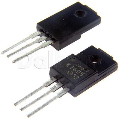 2sk1605 Original Panasonic Power Fet 5a 450v 1.3ohm Npn To-220ab
