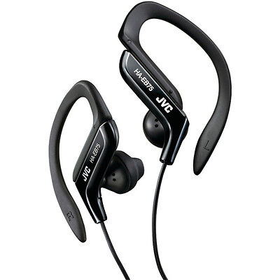 JVC Sport Clip Design Stereo Wired Earclip Headphone in -