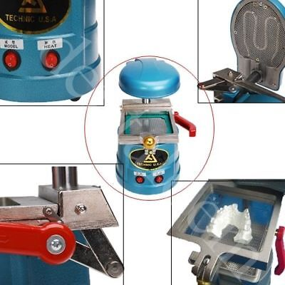 Dental Vaccum Forming Molding Machine Lab Former Thermoforming Bite Retainer Us