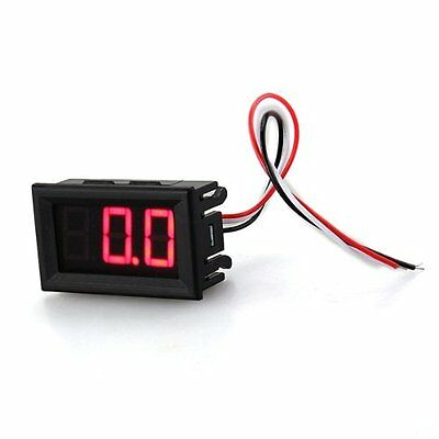 Mini Voltmeter Tester Digital Voltage Test Battery Dc 0-30v Red Auto Car Lw Szus