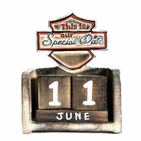 Brand New: Carved Wood Sign - This is Our Special Day Gift