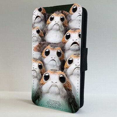 Star Wars Porg Last Jedi FLIP PHONE CASE COVER for IPHONE SAMSUNG