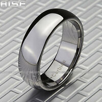 New In Box!!! Rise Men's 8mm Tungsten Ring Sz 9-13