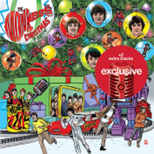 Купить THE MONKEES Christmas Party CD -  2 BONUS Tracks - TARGET Exclusive