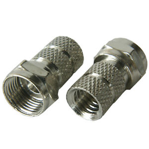 10x-F-Connector-6-7mm-Coaxial-RG6-Plug-Satellite-Aerial-Coax-Male-Sky-Virgin
