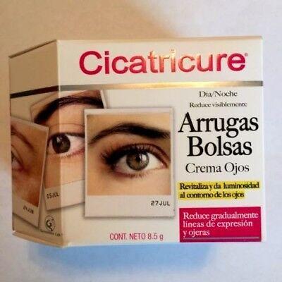 New!Cicatricure (Arrugas y Bolsas) Eyes Wrinkles and Bags