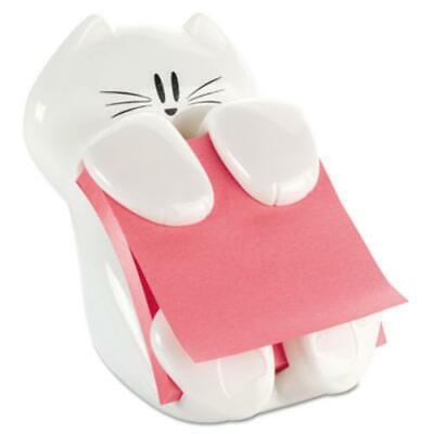 Post-it Notes Cat Dispenser - 3 X 3 - White Cat330