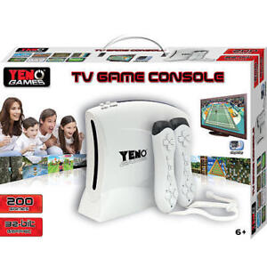 TV Video Game Console 200 Games +Wireless Controllers Nintendo