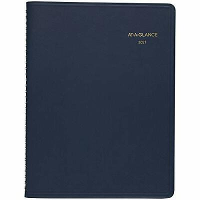 2021 Monthly Planner By At-a-glance 9 X 11 Large 15 Months Navy 702602...