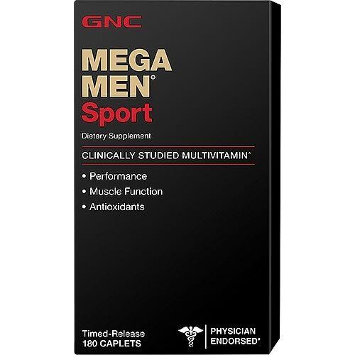 GNC Mega Men Sport - 180 Caplets