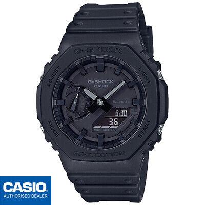 CASIO GA-2100-1A1ER⎪GA-2100-1A1⎪ORIGINAL⎪G-SHOCK Classic⎪NEGRO⎪CARBON CORE GUARD