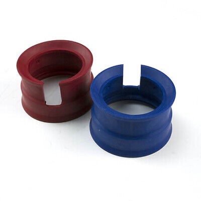 Yellow Jacket 49090 2-12 Set Red And Blue Gauge Boots
