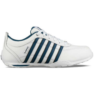 K Swiss Arvee 1.5 Mens Classic White Leather Trainers Shoes Size 7-12