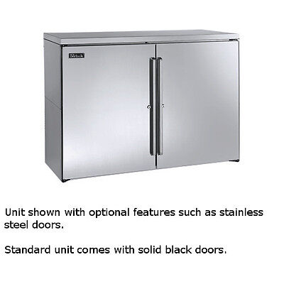 Perlick Bbr48 48 Two-section Refrigerated Back Bar Cabinet