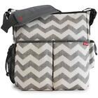 Gray Diaper Bag
