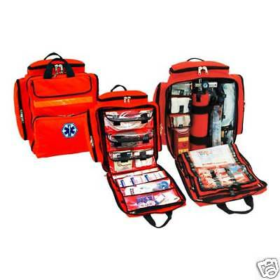 Mega Trauma Pack - Paramedicemt Backpack Bag - Orange