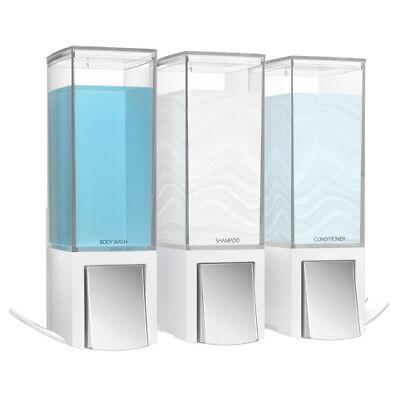 Clever III Seifenspender Wandmontage Seife Bad Spender Soap Dispenser weiß - Bad-spender