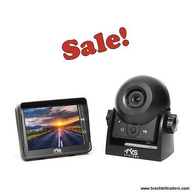 Wireless Rear View Safety Camera Systems - RVS (No Wiring!) back up (RVS-83112)