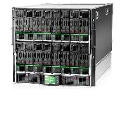 16x HP ProLiant BL460c Gen8 Blades 32x E5-2690 V2 Ten Core 3.60GHz Xeon 6TB RAM
