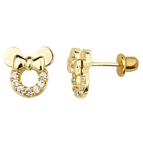 Childrens Gold Earrings | eBay