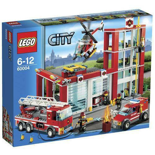 Lego Fire Station Ebay