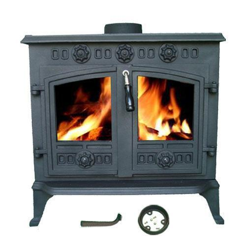 Log Burner Multifuel Woodburner Stove Ebay