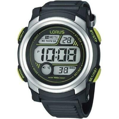 Lorus Gents Digital Men's Watch With Black Strap R2317GX9