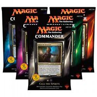 MTG Magic The Gathering Commander 5 Deck Box Now Available