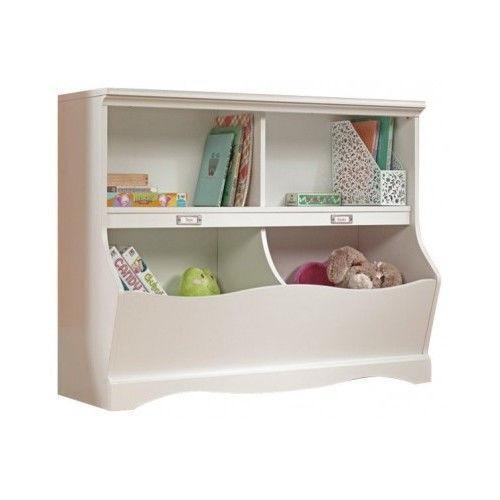 Kids White Bookcase Ebay