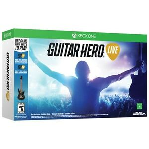 ACTIVISION XBOX1 Guitar Hero Live bundle -NEW IN BOX