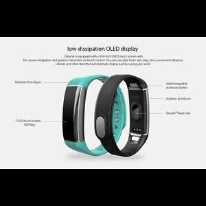 Zeblaze ZeBand BLE 4.0 Heart Rate Monitor Smart Wristband - GREEN Cremorne Yarra Area Preview