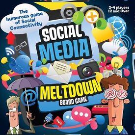 Social Media Meltdown board game
