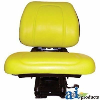 Re62227 Yellow Seat Assembly W Suspension Fits John Deere 5200 5300 5400 Qr