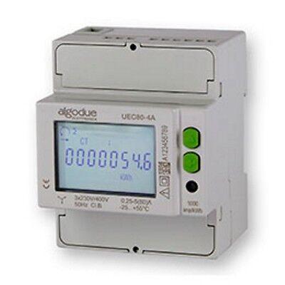 Drehstromzähler 2 Tarif Drehstrom-Energiezähler MID geeicht 80 A Stromzähler