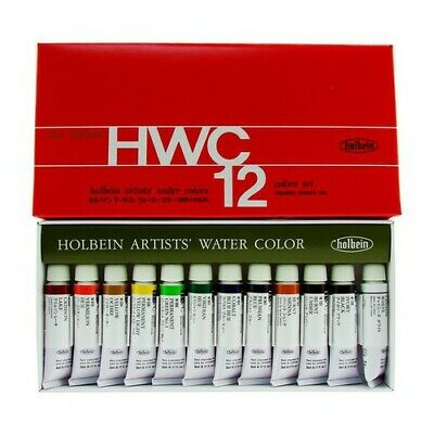 Holbein Artists Watercolor (HOLBEIN ARTISTS COLORS W401 WATERCOLOR ARTIST SET/12 - 5ML TUBES )