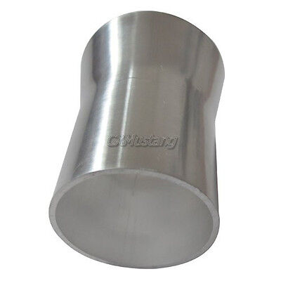 """CX Universal 2.5"""" to 2"""" OD Aluminum Reducer Pipe 2mm Thick 3"""" Long"""