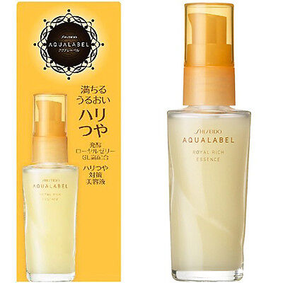 Shiseido AQUALABEL Royal Rich Essence Aging Care Serum For Lines Wrinkles 30mL
