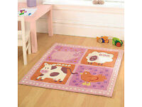 Childrens Farm Yard rug