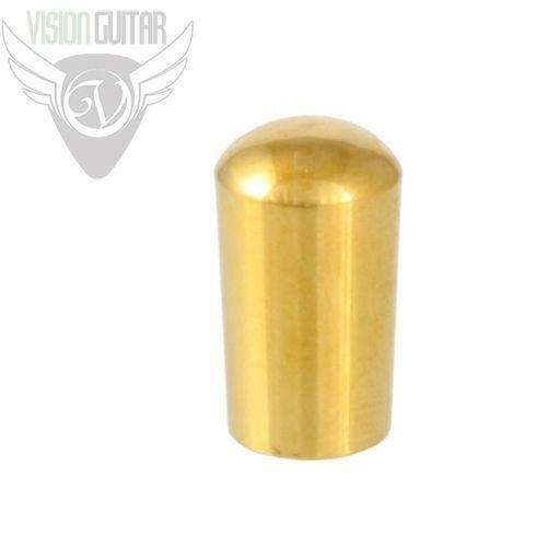 Schaller Quality Gold Plated Brass Switch Knob Tip for Switchcraft Toggles