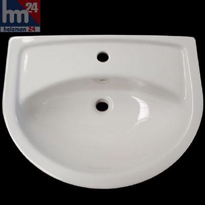 Waschtisch-waschbecken (Vitra Waschtisch Waschbecken 50 bis 65 cm weiß optional mit Halbsäule)