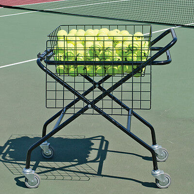 "Foldable Tennis Cart - 20""W x 30""L (250 Ball Capacity)"