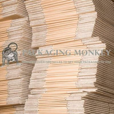 100 x Cardboard Mailing Postal Packaging Boxes 8x6x6