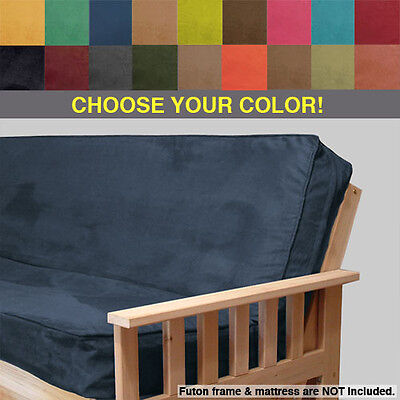 MICRO-SUEDE FUTON COVER - Full Size - Free - Suede Full Futon Cover