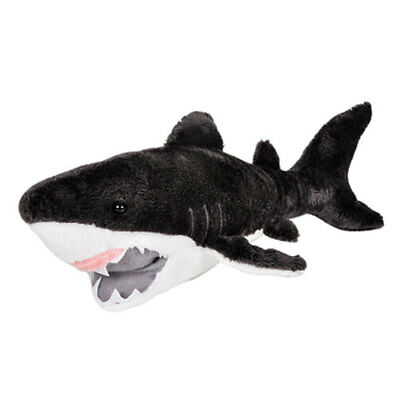 Adventure Planet Plush Pal - GREAT WHITE SHARK (11 inch) -New Stuffed Animal Toy