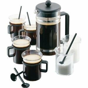 Bodum French Bistro 12-Piece Gift Set with 8-Cup Coffee Press
