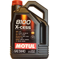 Motul Engine Oil, 8100 5w40 X-cess and 5w30 X-Clean 5L bottle!